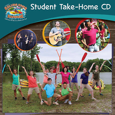 Vacation Bible School (VBS) 2018 Rolling River Rampage Student Take-Home CD (Pkg of 6)