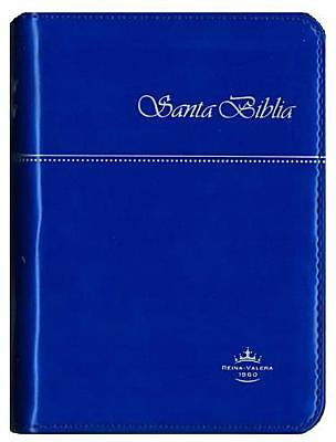 Rvr60 Spanish Bible Blue Cover