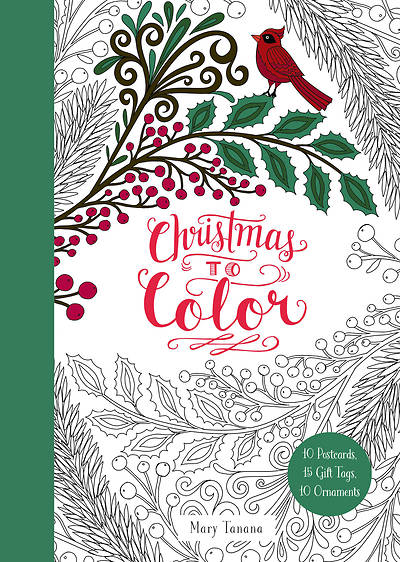 Picture of Christmas to Color