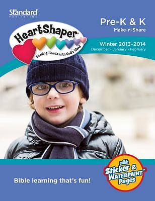 Standard HeartShaper Pre-K & K Student (Make-N-Share) Winter 2013-2014