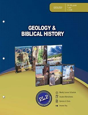 Geology & Biblical History Parent Lesson Planner (PLP)