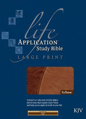Life Application Study Bible-KJV-Large Print