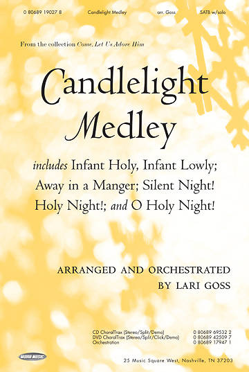 Candlelight Medley SATB Anthem with Solo