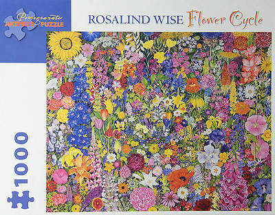Picture of Flower Cycle 1,000-Piece Jigsaw Puzzle