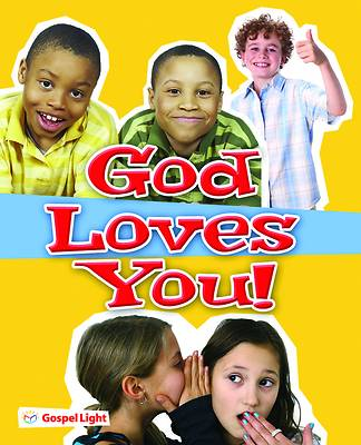 Gospel Light SonSpark God Loves You! Evangelism Booklets Pack of 20