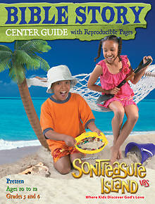 Gospel Light VBS 2014 SonTreasure Island Bible Story Center Guide Preteen Ages 10 to 12 Grades 5 and 6