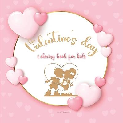 Picture of Valentine's day coloring book for kids