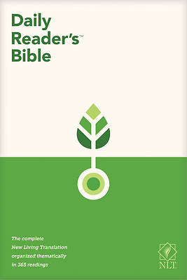 Picture of NLT Daily Reader's Bible (Red Letter, Hardcover)