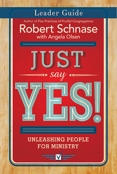 Just Say Yes! Leader Guide - eBook [ePub]