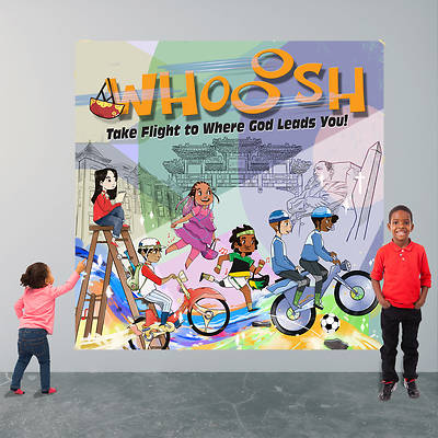 Picture of Vacation Bible School (VBS) 2019 WHOOOSH Decorating Mural