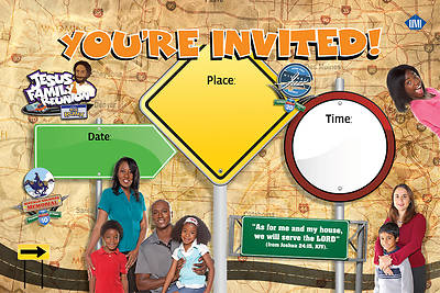 UMI VBS 2013 Jesus Family Reunion: The Remix Outdoor Banner