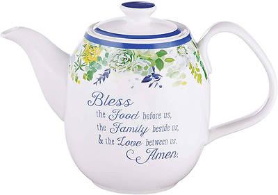 Picture of Teapot Ceramic Our Daily Bread - Matt 6