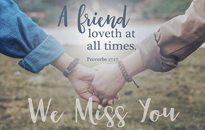 Picture of We Miss You Post Card