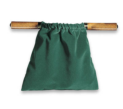 Picture of Artistic Green Two-Handled Offering Bag