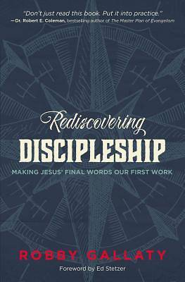 Rediscovering Discipleship