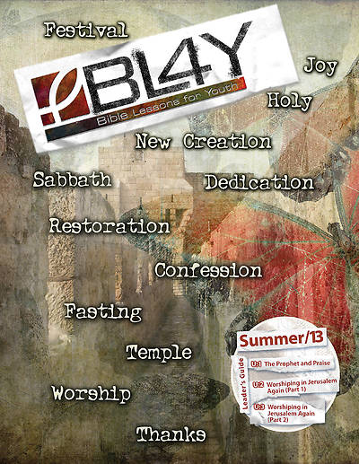 Bible Lessons for Youth Summer 2013 Teacher Book - Download