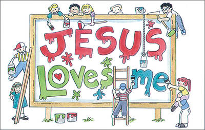 Picture of Jesus Billboard Postcards - Pkg of 25