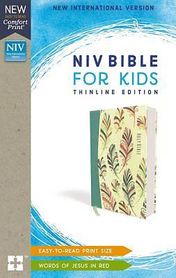 Picture of NIV Bible for Kids, Flexcover, Teal, Red Letter Edition, Comfort Print