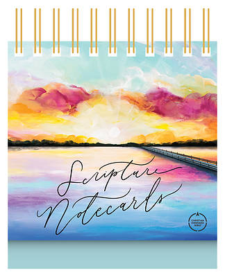 Picture of CSB Scripture Notecards, Hosanna Revival Edition, Lake
