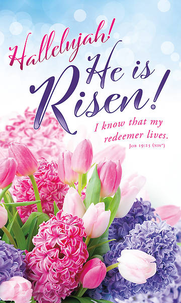 Picture of Hallelujah He is Risen Easter 3' x 5' Fabric Banner