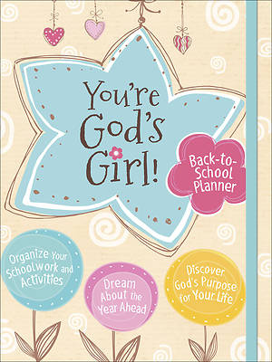 Picture of You're God's Girl! Back-To-School Planner