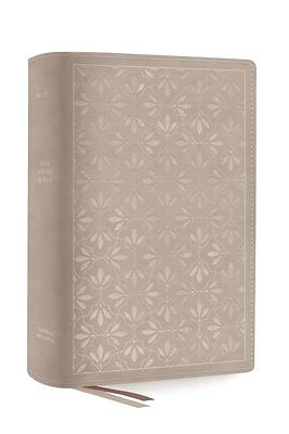 Picture of The Net, Abide Bible, Leathersoft, Stone, Comfort Print