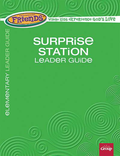 Picture of FaithWeaver Friends Elementary Surprise Station Leader Guide, Winter 2017