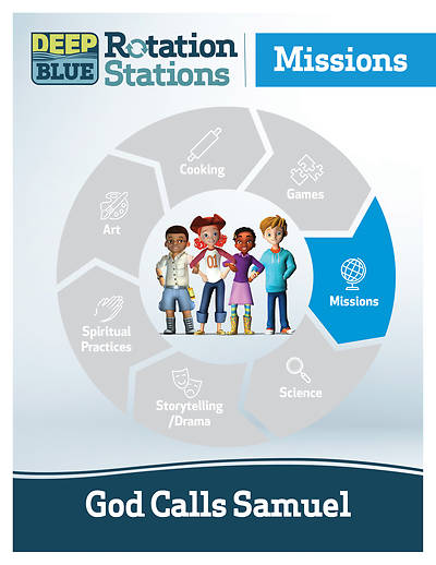 Picture of Deep Blue Rotation Station: God Calls Samuel - Missions Station Download