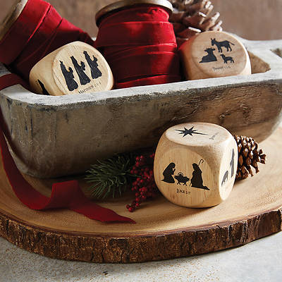 Picture of Christmas Story Wooden Cube