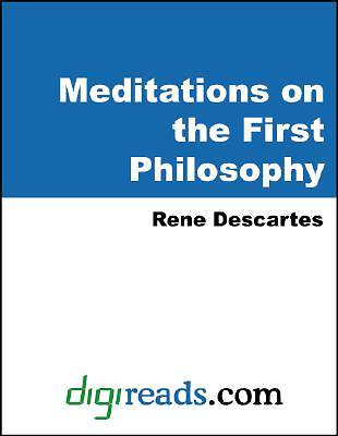 Meditations on the First Philosophy [Adobe Ebook]