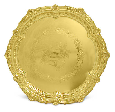 Anniversary Gift Tray - Gold Plated