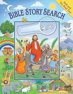 Bible Story Search [With Magnifying Glass]