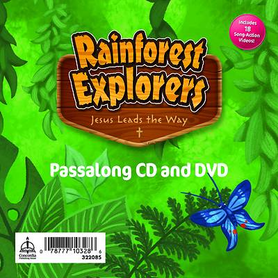 Picture of Vacation Bible School VBS 2021 Rainforest Explorers Passalong CD & DVD