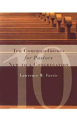 Picture of Ten Commandments for Pastors New to a Congregation