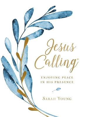Picture of Jesus Calling (Large Text Cloth Botanical Cover)