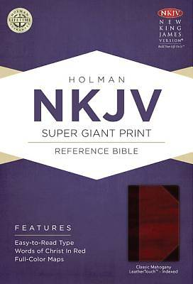 Picture of NKJV Super Giant Print Reference Bible