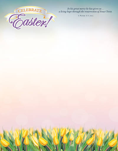 Picture of Celebrate Easter Letterhead