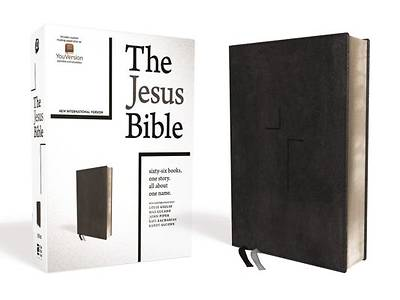 Picture of The Jesus Bible, NIV Edition, Leathersoft, Black, Indexed, Comfort Print