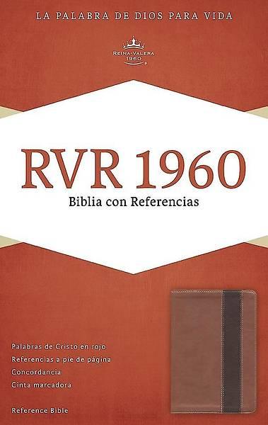 Picture of Rvr 1960 Biblia Con Referencias, Cobre/Marron Profundo Simil Piel