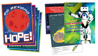 Picture of Vacation Bible School (VBS) To Mars and Beyond Decorating Poster Pak