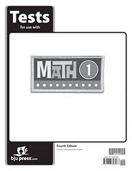 Math Tests Grd 1 4th Edition