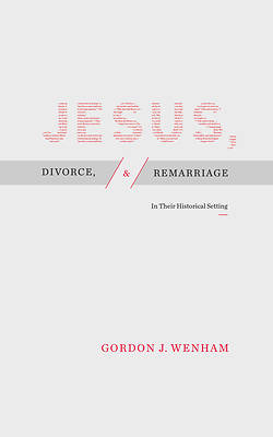 Picture of Jesus, Divorce, and Remarriage