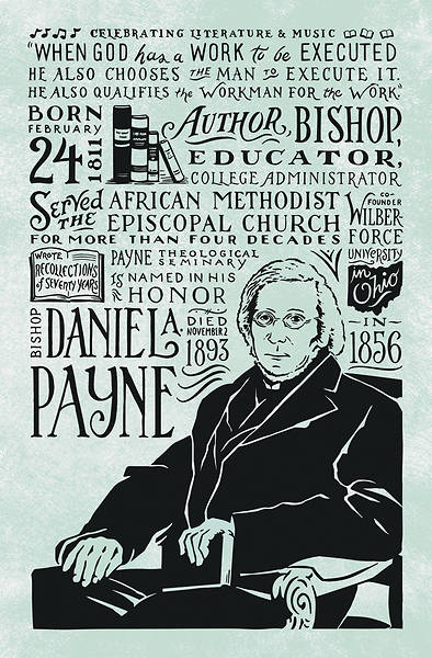 Picture of Daniel A. Payne Black History Month Regular Size Bulletin