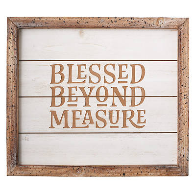 Picture of Blessed Beyond Measure Wall Art