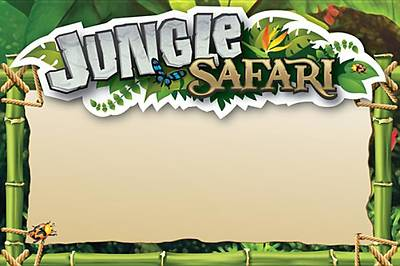 Standard VBS Jungle Safari Jungle Name Tag Cards (10)