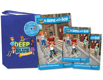 Picture of Deep Blue Connects At Home With God One Room Sunday School Kit Spring 2019