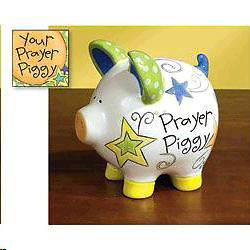 Bank Prayer Piggy and Card