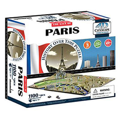 Picture of 4D Paris Cityscape Time Puzzle