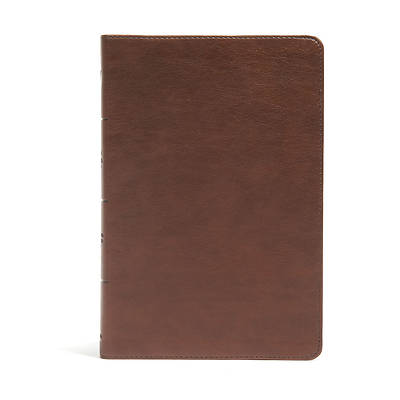 Picture of CSB Seven Arrows Bible, Brown Leathertouch