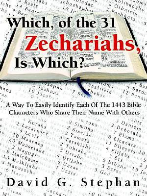 Which, of the 31 Zechariahs Is Which?